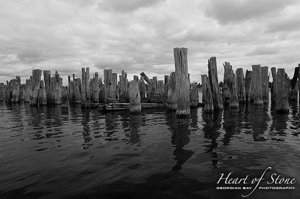 Key River Pier, Key River, Georgian Bay. Photo by Sean Tamblyn.