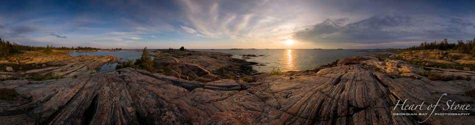 Heart of Stone Georgian Bay Photography